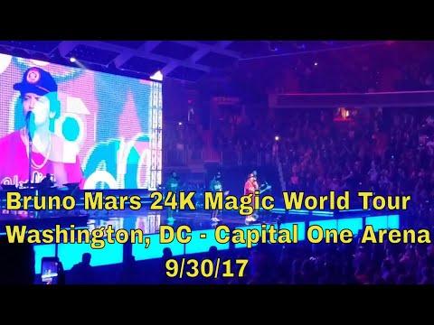 24K Magic - Bruno Mars 24K Magic World Tour - Washington, DC - Capital One Arena - 9/30/17