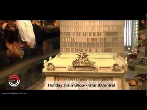 Grand Central - Holiday Train Show -  Estación Central