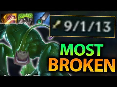 THIS IS WHY ZAC IS BY FAR THE MOST BROKEN JUNGLER IN PATCH 7.10!! - League of Legends