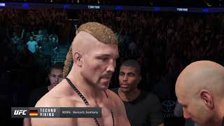 Conor McGregor Vs Techno Viking - UFC 4