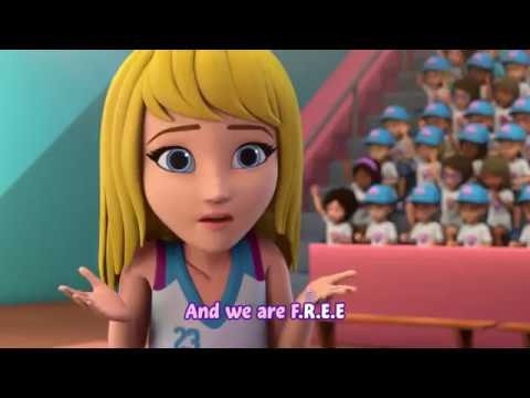 "L2M - ""B.E.A.T."" [LEGO Friends Lyric Video]"