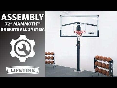 Lifetime Mammoth Bolt Down Basketball Hoop | Model 90964 | Lifetime Assembly Video