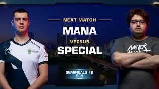 MaNa vs SpeCial PvT - Semifinals - WCS Austin 2018 - StarCraft II