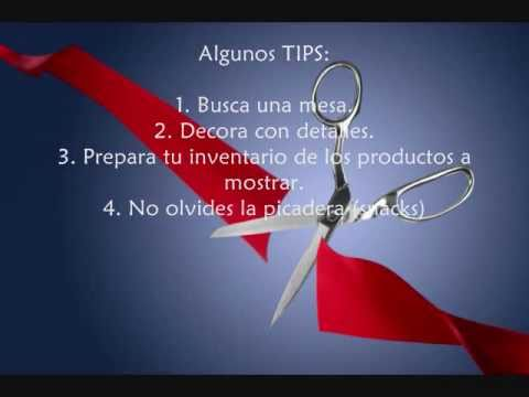Ideas Mesa De Apertura Tu Negocio Amway Youtube
