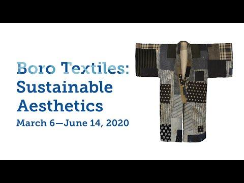 Boro Textiles: Sustainable Aesthetics