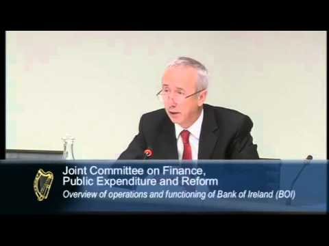 Finance Committee: Overview of function and operation of Bank of Ireland