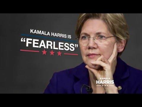 """Fearless"" - Kamala Harris for Senate"