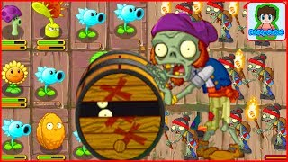 Зомби БОСС с бочкой зомби Растения против зомби Plants vs zombies 14 От Фаника