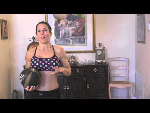 Home Medicine Ball Ab Workout - 5 Exercises For Six Pack Abs