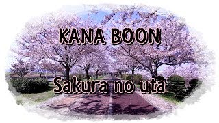 Una cancion mas de Kana Boon - Sakura no uta (Cancion de sakura) No...