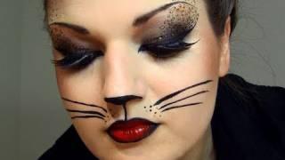 איפור פנים חתולה