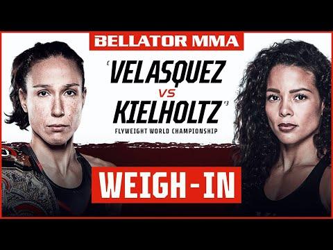 Weigh Ins   Bellator 262: Velasquez vs. Kielholtz