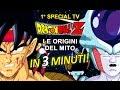 Dragonball Z TV1 Le origini del mito in 3 minuti