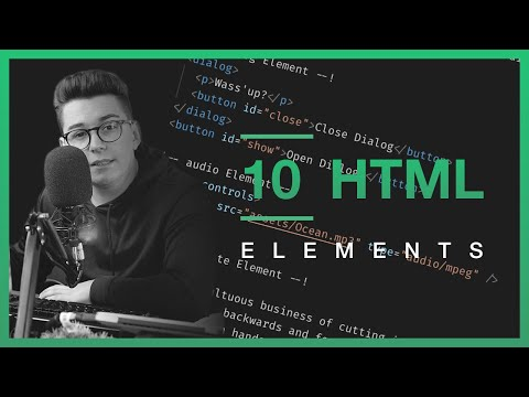 10 HTML Elements You Didn't Know About