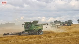 Harvest Story: 11 Combines in 1 Field