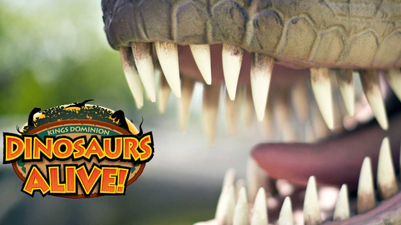 Image result for KINGS DOMINION DINO ALIVE