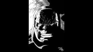 Inking Darkseid