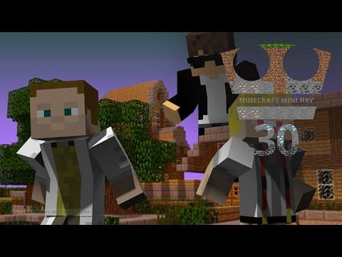Jirka a GEJMR Hraje - Minecraft Mini hry 30 - Trouble in Mineville