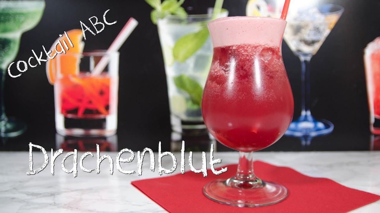 Drachenblut Der Fruchtige Vampier Cocktail Cocktail Abc D