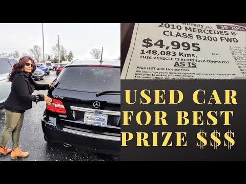 Shopping For Used Car In Canada Part 2 By Canadadarshan1000