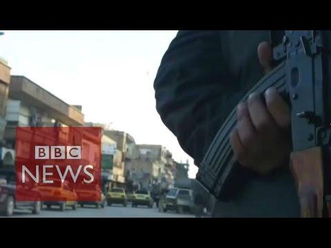 Islamic State: Secret video shows life inside Raqqa - BBC News