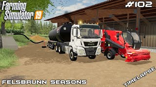 New equipment & slurry shaft | Animals on Felsbrunn Seasons | Farming Simulator 19 | Episode 102
