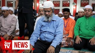 Zakir Naik sticks to prayers at Melaka mosque, no speeches