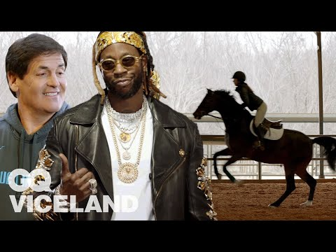 2 Chainz and Mark Cuban Check Out the Most Expensivest Horses | GQ & VICELAND