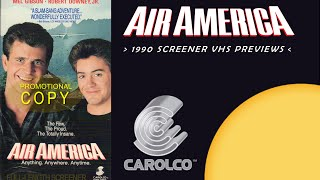 """Opening to """"Air America"""" 1990 Promotional/Screener VHS*"""