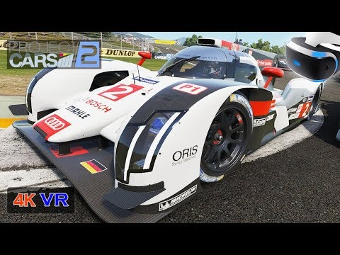 LMP1 Project Cars 2 [PS VR PC 4K] Onboard Audi Prototype Endurance Championship - Fuji (Stage 1)