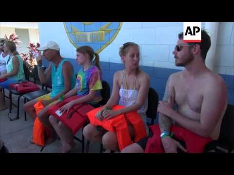 Catamaran carrying foreign tourists capsizes, killing three people