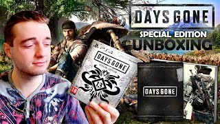 Days Gone - Special Edition UNBOXING (Europe) [PS4]