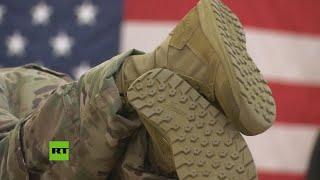 EE.UU. continúa desplazando sus tropas en Oriente Medio