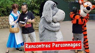 UNE JOURNÉE RENCONTRES PERSONNAGES à DISNEYLAND PARIS