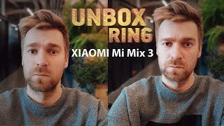 Slankiafonas?   XIAOMI Mi Mix 3   Unbox Ring apžvalga
