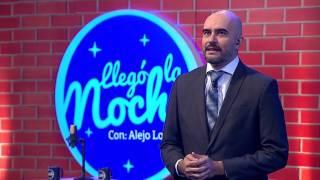 Alejo Lopera olvida lo que tiene que decir | Llegó La Noche