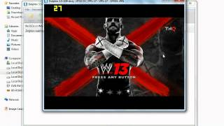 how to play wwe13 on pc