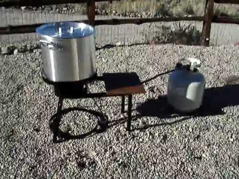 7 Deep Fried Turkey - Deep Fryer and Peanut Oil - YouTube