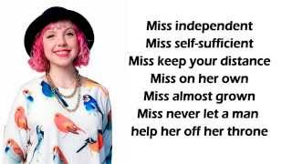 Joey Cook - Miss Independent Lyrics (American Idol Top 9 Recordings)
