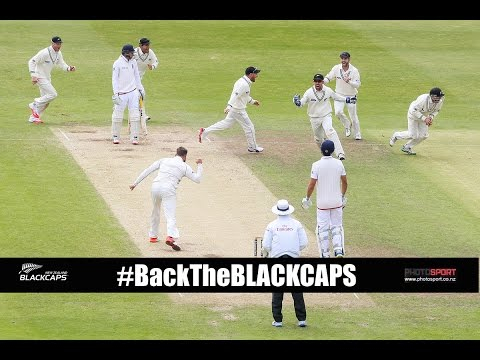 BLACKCAP Tom Latham on victory at Headingley