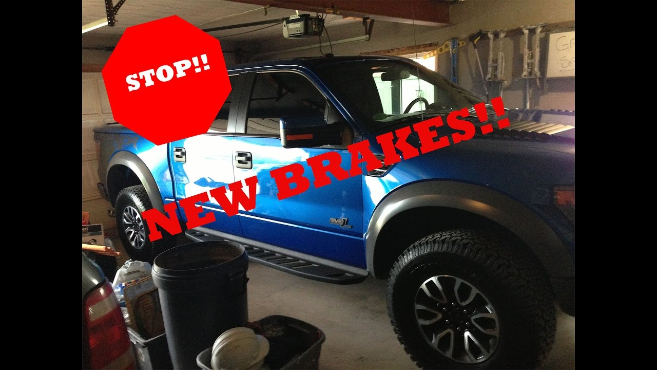 How To Change Brakes  Ford F  D I Y