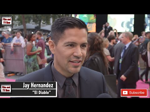 Jay Hernandez Gushes Over Being One Of The First Latin Hispanic Heroes At Suicide Squad Premiere