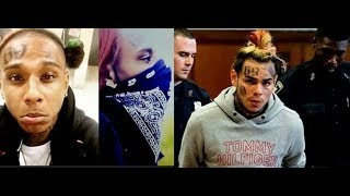 Gsc Crip Rapper Who Tattoo 6IX9INE On Face & Body Life After 69 Snitching..DA PRODUCT DVD