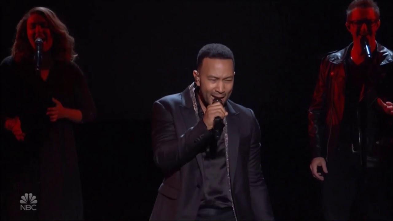 "John Legend Sings ""A Little Less Conversation"" Live In ..."