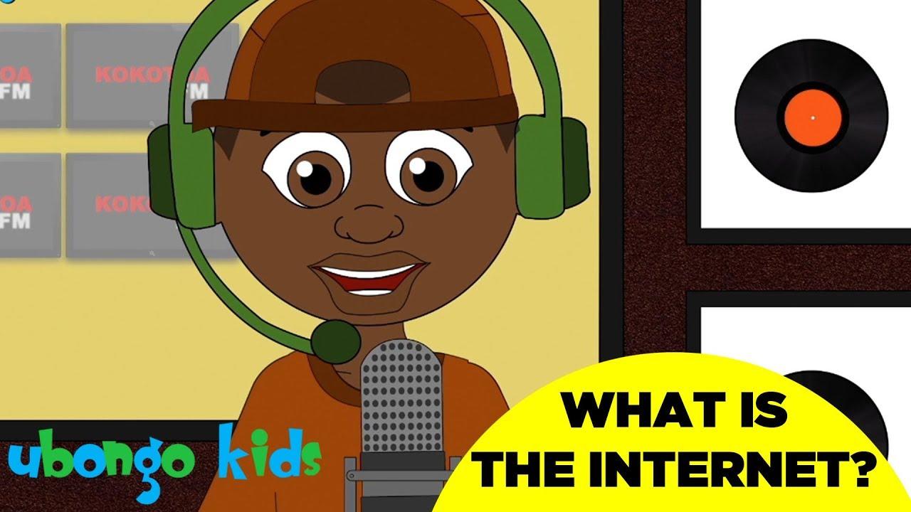 Sing the Internet Song | Ubongo Kids Sing Along | African Educational Cartoons
