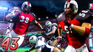 MOST EXCITING GAME ALL YEAR! - Backbreaker Football Season Mode 2017 | Part 43