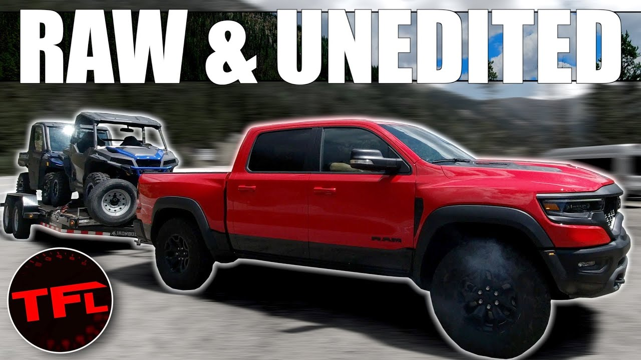 The Ram 1500 TRX Overheated When Max Towing...But It's NOT What You Think!