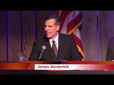 2014 Candidates Forum   James Vanderbilt duction