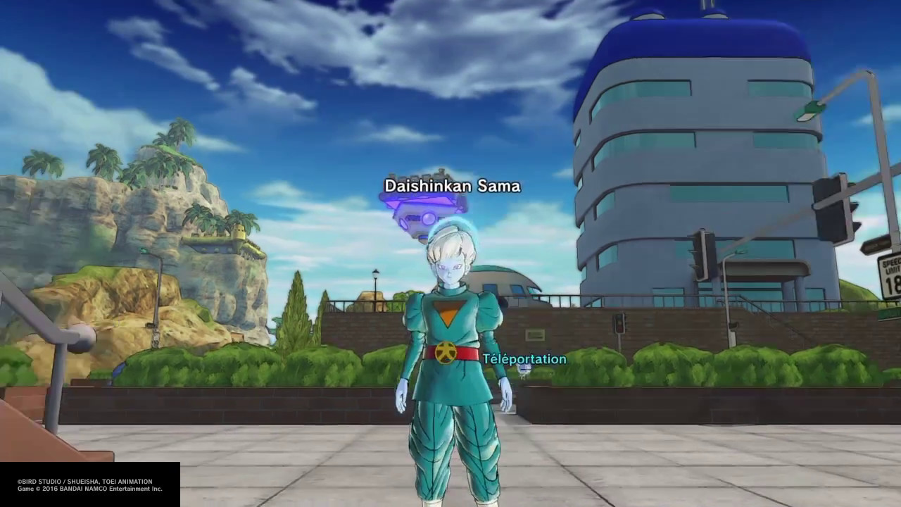 Xenoverse 2 builld daishinkan grand priest CAC no [mod] FR