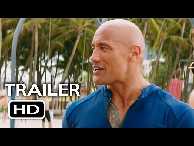 Baywatch Trailer #3 (2017) Dwayne Johnson, Zac Efron Comedy Movie HD